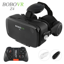 2016 Hot Google Cardboard BOBOVR Z4 VR 360 Degree 3D Viewing Immersive Experience 4.7''-6.2'' Smartphone Virtual Reality Glasses(China)