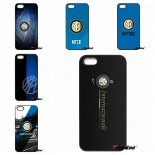 Inter Milan Football Hard Cell Phone Cover Case For iPhone 4 4S 5 5C SE 6 6S 7 Plus Samsung Galaxy Grand Core Prime Alpha