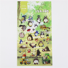 1 Pc / Pack Daisyland My Neighbor Totoro Chinchill Design Diary Gallery Stationery Letter Decorative Pet Sticker