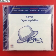 BINYEAE- new 1000 years of classical music Satie Gymnopedies Australian version of CD [free shipping](China)