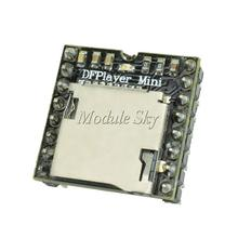 1pcs DFPlayer Mini MP3 Player Module MP3 Voice Module for Arduino DIY Supporting TF Card and USB Disk Free Shipping