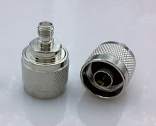N type to sma connector RFcoaxial adapter connector N type male to sma Female connector(China)