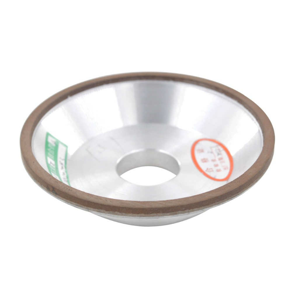 125x32x32x10x3mm Grit 150/180/240/320/400/600# 75% Concentration Bowl Shaped 125mm Outside Dia. Diamond Grinding Wheel <br>