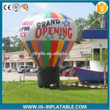 4m Promotion cold air ground balloon inflatable giant balloon