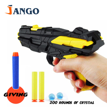 JANGO Chirdren   Water Gun  Toy   Children Toys Guns Water Soft  Bullet Guns Wholesale  Dual - Use  EVA Bullets Water  Pistol