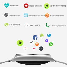 fashion Product Smartwatch Smartband with Heart Rate Monitor blood pressure Distance Calculation Call SMS facebook twitter push