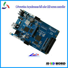 c-power6200 asynchronous video led screen controller / Support P3, P4,P5,P6,P7.62,P10,P16 LED display module(China)