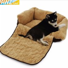 Pet Dog Cat Mutifunctional Luxury Sofa Warm Soft Mat Bed For Puppy Kitten Cotton Cushion Pad Cozy Kennel House Dog Furniture(China)