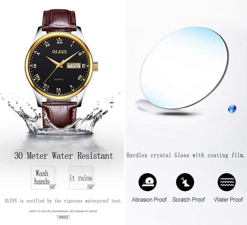 HTB1iwoHf3oQMeJjy0Fpq6ATxpXar - OLEVS Luxury Men Gold Watches High Quality Watch Men's Quartz Date Clock Male Week Display Wristwatch Steel relogio masculino