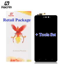 hacrin For Xiaomi Mi5S LCD Display + Glass Touch Panel New Digitizer Assembly Screen Replacement For 5.15 inch Xiaomi Mi 5S