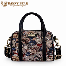 DANNY BEAR Luxury Women Shoulder Bags Female Vintage Handbags Ladies Brand Kawaii Tote Bags Girls Small Messenger Bags Bolsas(China)