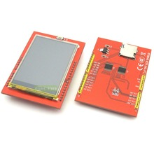 K2-02 Free shipping LCD module TFT 2.4 inch TFT LCD screen for UNO R3 Board and support mega 2560(China)