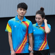 Custom table tennis t shirt Men/Women's , sports badminton t shirt , Tennis sport t shirt , Badminton shirt , AY001(China)