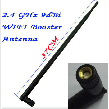 Foscam 2.4GHz 9DBI Gain WIFI Black Wireless Antenna for FI8918W FI8910W FI9821W FI9821P FI9831P Indoor IP Camera