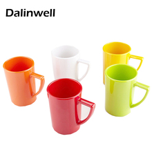 1PCS Creative Candy Color Coffee Milk Plastic Mugs Tea Cup Nice Christmas Gifts Novelty Simple Fashion Toothbrush Wash Rinse Cup