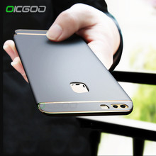 OICGOO Ultra Thin Hard Phone Cases For Huawei P10 P9 P8 lite P10 Plus Case Back Full Cover For Huawei Honor 9 V10 Mate 9 10 Case(China)