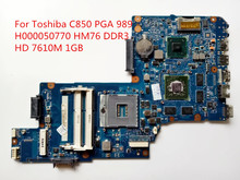 For Toshiba C850 Laptop Motherboard H000050770 HM76 HD 7610M 1GB 100% Tested Fast Ship