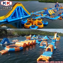 Inflatable Water Park Floating Island, Inflatable Water Playground Park(China)