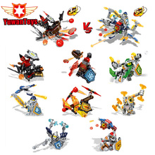 Hot Selling Nexus Knights Toys Building Blocks Figures Jestro Macy Axl Lance Clay Bricks Children Gifts - Corn Toy Store store