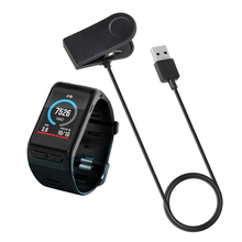 1m USB Smartwatch Charging Cable, Smartwatch Clip Charger Dock For Garmin Vivoactive HR Watch