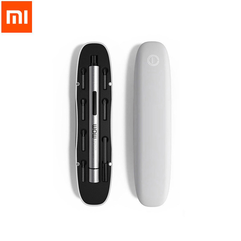 Xiaomi Wowstick 1FS 1p+ mijia Upgraded Electric Screwdriver 18 Bits Aluminium Body With DIY Tools Kit for smart Phone Repair<br>