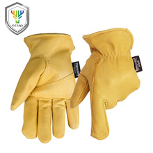 OZERO Goat Motorcycle Gloves Moto Racing Warm Gloves Knight Leather Ride Bike Driving ATV MTB Bicycle Cycling Motorbike 5001(China)