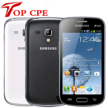 Original Samsung S7562 Galaxy S Duos Cell Phones 5 MP camera wifi GPS android 4.0 Dual sim card refurbished Drop shipping(China)