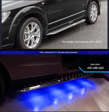 for LEXUS VW Touareg RX Edge Jcuv Journey side step bar running board with LED light,newest product,insured by insurance company
