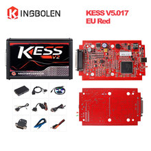 KESS V2 V5.017 EU Red PCB No Token Limited ECM Titanium KTAG V7.020 Master Version ECU programming tool Car/Tractor/Bike V4.036(China)