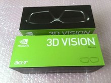 Free shipping Original Brand New First Generation Chargable Wireless nvidia Vision 1 Stereo 3D Glasses