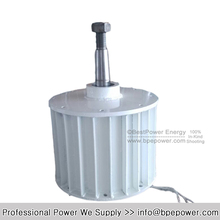 High Power 5000W AC120V AC220V Low rpm Permanent Magnet Generator / Wind Power Generator