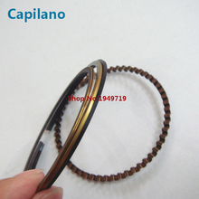 motorcycle piston ring GS125 GN125 for Suzuki 125cc GN GS 125 engine cylinder spare parts diameter 57mm