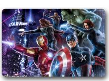 Custom Machine-Washable Marvel Superhero Door Mat Indoor/Outdoor Decor 40x60cm Rug Doormat Room Decoration