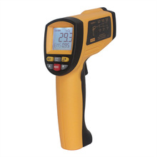 non contact infrared thermometer with laser targeting digital thermometer gun laser temperature gauge GM1150A BENETECH