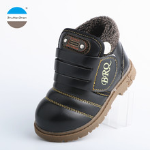 2017 Winter style 1 to 5 years old kids boots baby boys and girls keep warm cotton snow boot children sports shoes short boots