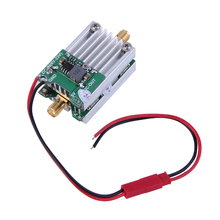 1pc 5.8Ghz FPV Transmitter RF Signal Amplifier For Airplane Helicopter Model 60x27x22mm high quality new
