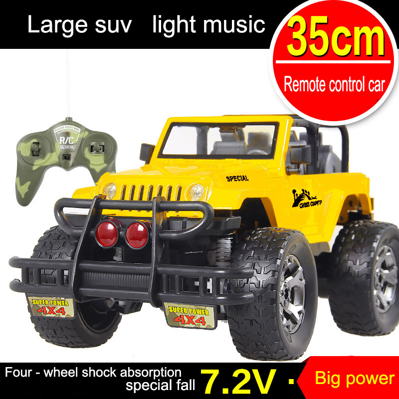 1:12 Remote-controlled vehicle Remote Control Off-road Vehicle 4 Channels Rc Car High Speed Alloy Material Kid Child Best Gift