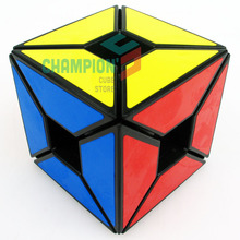Lanlan Edges only Void Magic Cube Puzzle Void Hollow Angle 3x3 Speed kubik Black And White Learning&Educational Cubo magico Toys(China)