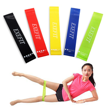 Buy 5 Levels Resistance Band Set Elastic Latex Gym Strength Training Rubber Yoga Loops Bands Workout Fitness Crossfit Equipment for $7.47 in AliExpress store