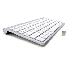 Russian Spanish French Arabic Hebrew Keyboard 2.4G Wireless Ultra-Thin Mute Keyboard for Mac Win XP 7 10 Android TV BOX