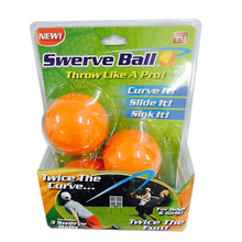 3PCS/Lot Swerve Ball Game kids Toy Children Outdoor Playing Game Anyone Throw Fun TD0093