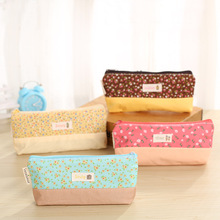 1Pcs/Sell Broken Beautiful Cloth Pencil Case PencilsBags Kawaii Girl Capacity School Supplies Stationery Cosmetic Bag 2017 New