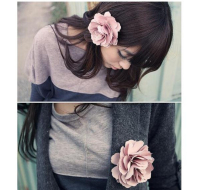 Min. order $9 (mix order) Multi-functional flower hair accessory also can be used brooch