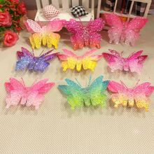 2017 Hair Accessorie For Women Butterfly Cute Plastic High Quality Girls Beautiful HairClips Animal Style