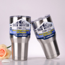 High Quality Double Wall 30OZ Stainless Steel Beer Mug Coffee Cup Keep Drink Hot and Cold Mug Cooler Cup Novetly Gifts