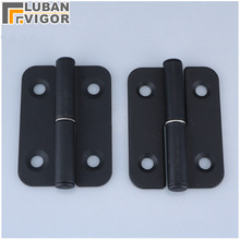 CL601 black Industrial machinery and equipment Loaded hinges,Mounted type Detachable hinge, Removable,industrial hinge(China)