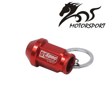 D1 SPEC Key chain JDM RACING 40MM WHEEL LUG NUT Auto Car King Rings styling Car-covers Accessories Alloys Key Ring(China)