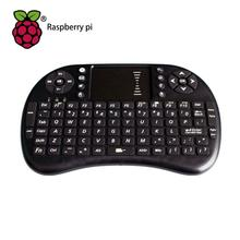 Raspberry Pi 3 Mini Keyboard 2.4G Wireless Handheld Keyboard with Touchpad Mouse For Orange Pi ,PC, Android TV