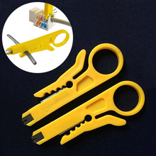 2PCS Network Connection Wire Punch Down Cutter Stripper Plastic Cable Cutter Stripper For Cable Tool