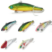 wLure Fishing Lure Lipless Trap Crankbait Hard Bait Deep Water Bass Walleye Crappie Minnow L105(China)